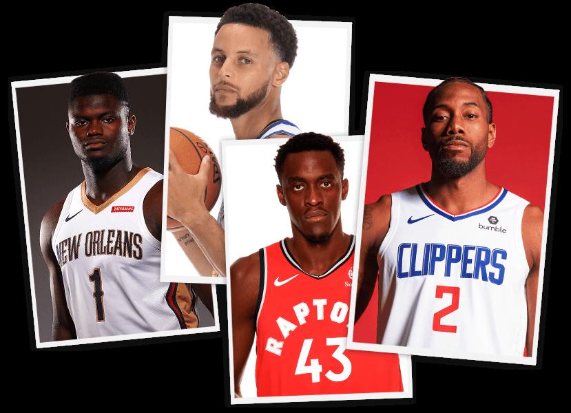 Imagen de jugadores de la NBA
